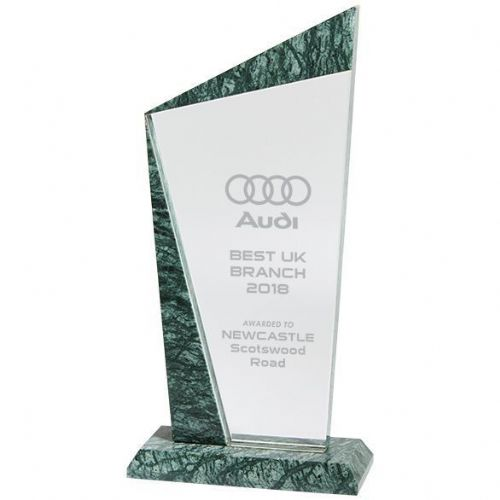 Prestige Crystal & Marble Award 200mm